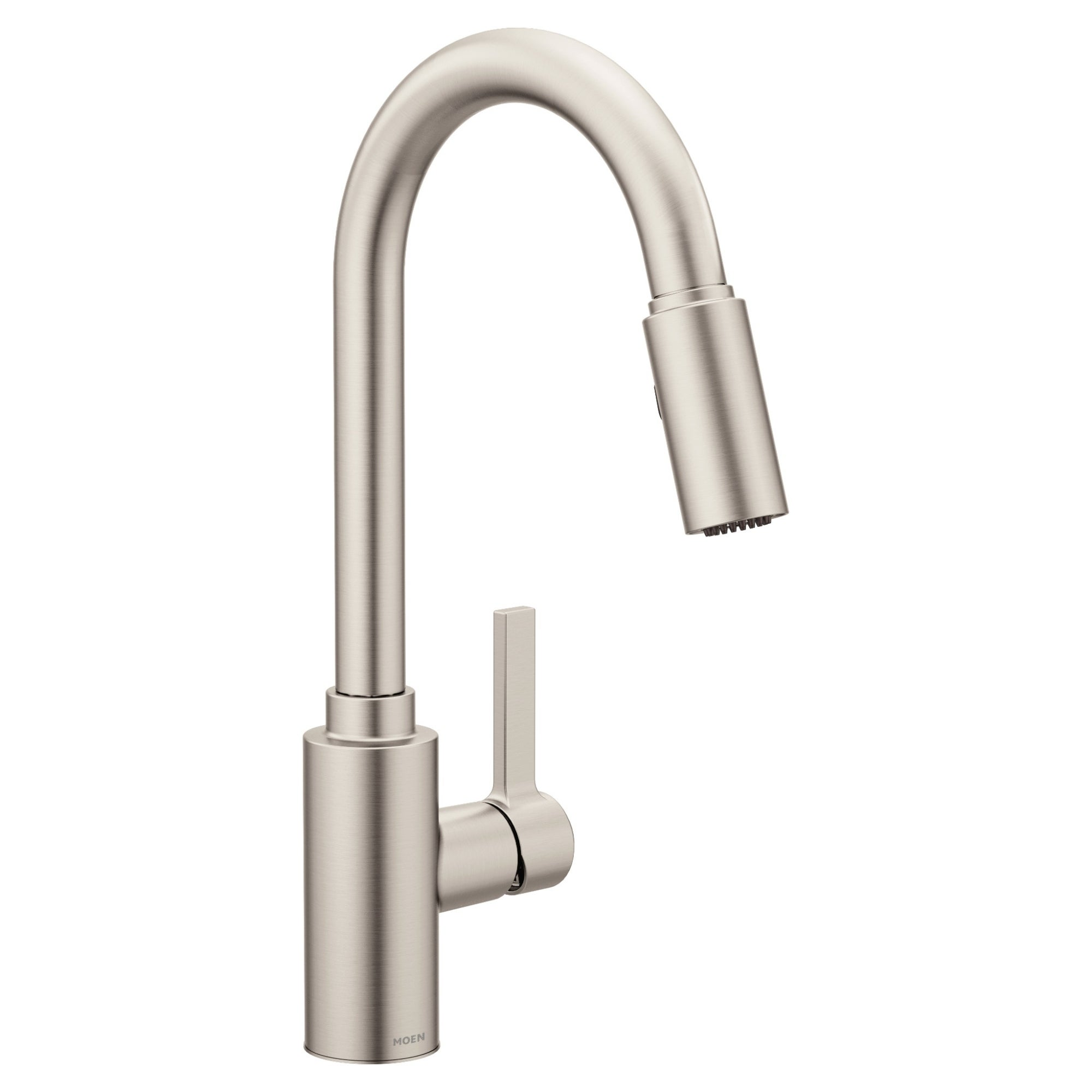 Moen Genta One-Handle High Arc Pulldown Kitchen Faucet Spot Resist Stainless