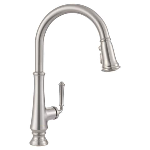 American Standard Delancey Single-Handle Pull-Down Kitchen Faucet Stainless Steel
