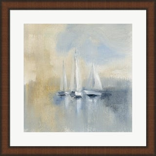 Silvia Vassileva 'Morning Sail I' Framed Art
