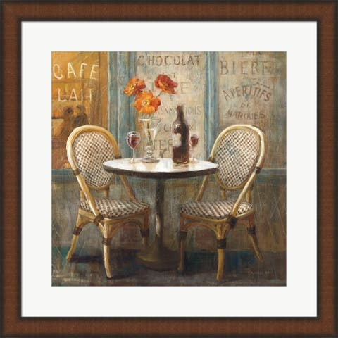 Danhui Nai 'Meet Me at Le Cafe I' Framed Art