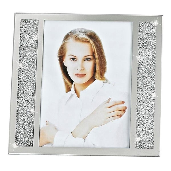 Lucerne Crystalized Picture Frame 5x7""