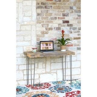 Reclaimed Wood Industrial Simple Desk