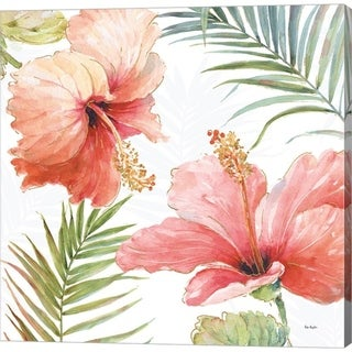 Lisa Audit 'Tropical Blush II' Canvas Art