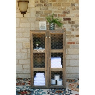 Freestanding Country Chic Cabinet