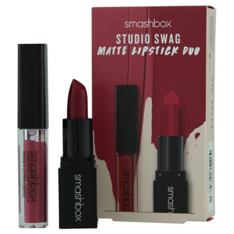 Smashbox Studio Swag Matte Lipstick Duo