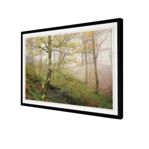 Spring Or Fall-Framed Giclee Print