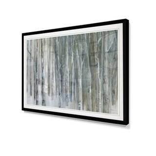 Banff Birch Grove-Framed Giclee Print