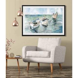 Link to Caught At Low Tide II-Framed Giclee Print Similar Items in Art Prints