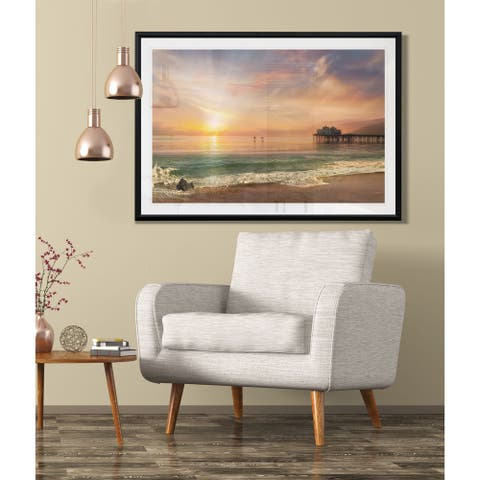 A Day's Sail-Framed Giclee Print