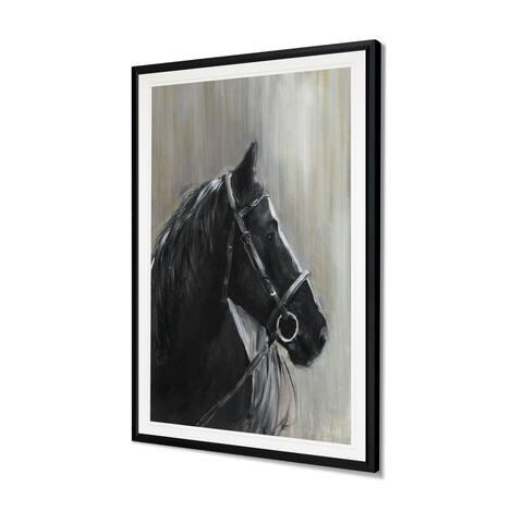 Midnight Thunder-Framed Giclee Print