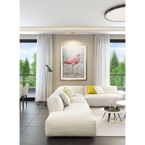 American Flamingo I-Framed Giclee Print