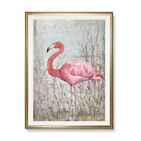 American Flamingo II-Framed Giclee Print