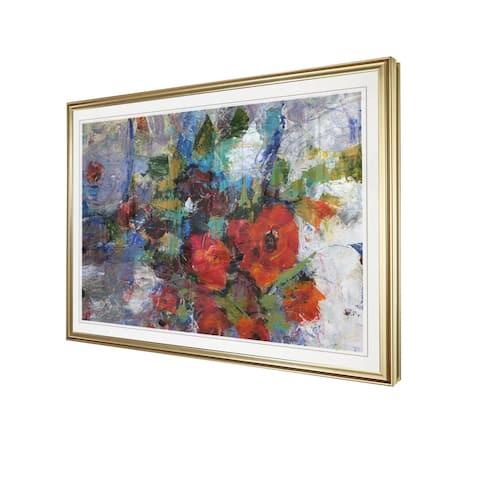 Splash of Color I-Framed Giclee Print