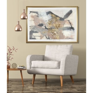 Golden Blush I-Framed Giclee Print