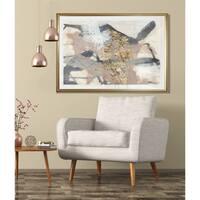 Golden Blush I-Framed Giclee Print
