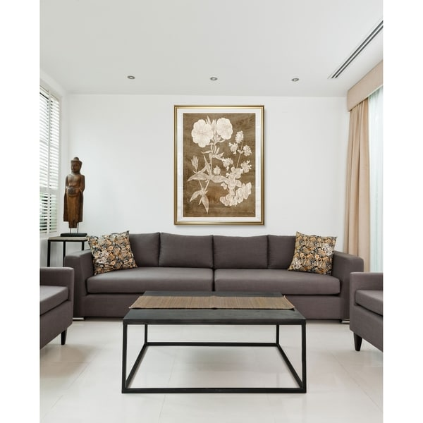 Botanical in Taupe II-Framed Giclee Print. Opens flyout.