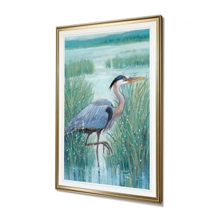 Link to Wetland Heron I-Framed Giclee Print Similar Items in Art Prints