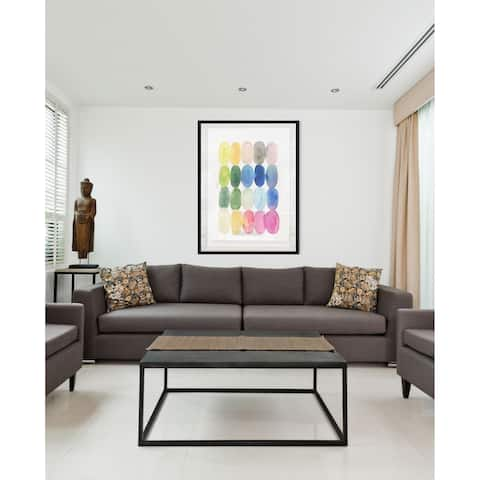 Color Melt II-Framed Giclee Print