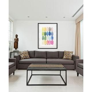 Color Melt II-Framed Giclee Print