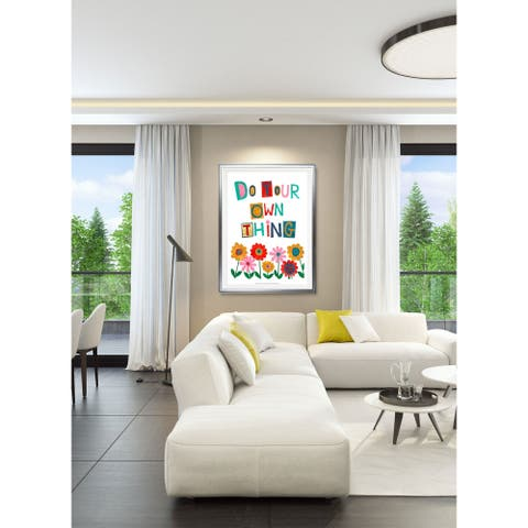 Positive Power II-Framed Giclee Print