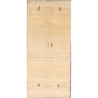 "Classical Shiraz Hand Knotted Wool Persian Gabbeh Tribal Rug Oriental - 5'10"" x 2'8"" runner"