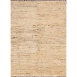 "Zolanvari Wool Handmade Wool Gabbeh Persian Area Rug - 4'6"" x 3'5"""