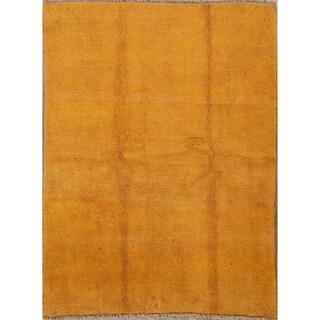 "Shiraz Genuine Woolen Handmade Gabbeh Persian Area Rug Oriental - 6'5"" x 4'10"""