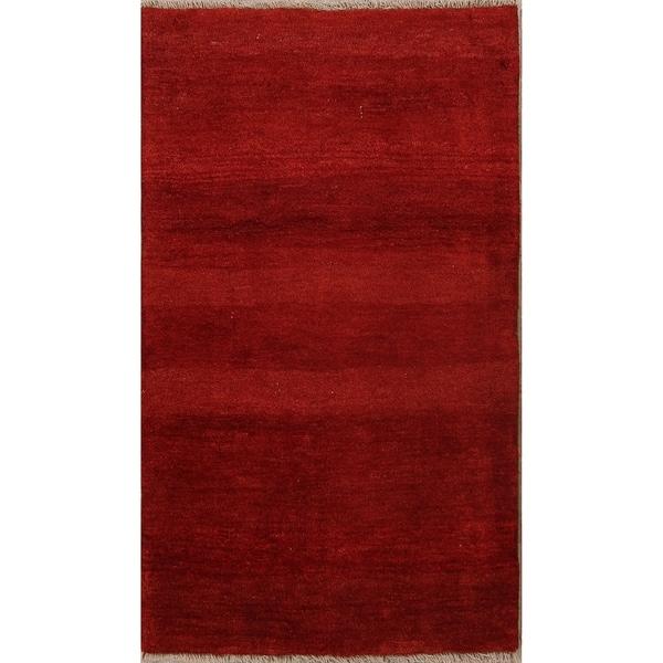 """Classical Shiraz Handmade Gabbeh Persian Woolen Rug Oriental - 5'9"""" x 3'4"""" runner"""