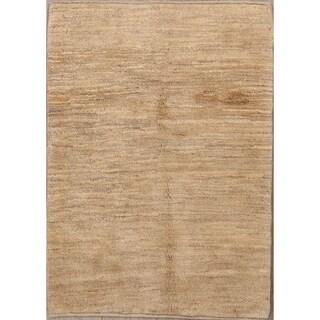 "Zolanvari Shiraz Wool Handmade Gabbeh Persian Modern Area Rug - 4'8"" x 3'4"""