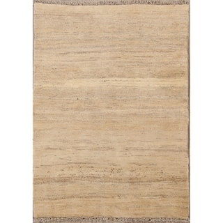 "Shiraz Handmade Wool Gabbeh Persian Tribal Area Rug Oriental - 4'8"" x 3'5"""