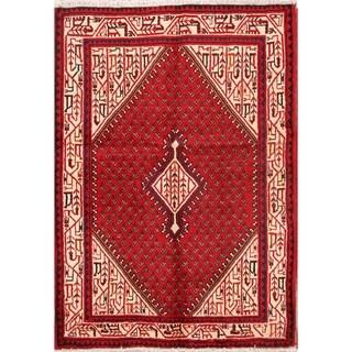 """Oriental Botemir Persian Handmade Wool Area Rug - 5'0"""" x 3'7"""""""