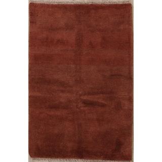 "Traditional Hand Made Gabbeh Zolanvari Shiraz Persian Area Rug - 5'0"" x 3'4"""