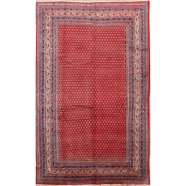 """Classical Botemir Hand Knotted Persian Traditional Area Rug Wool - 10'5"""" x 6'10"""""""