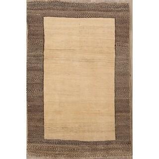 "Tribal Shiraz Handmade Wool Gabbeh Persian Area Rug Oriental - 5'0"" x 3'4"""
