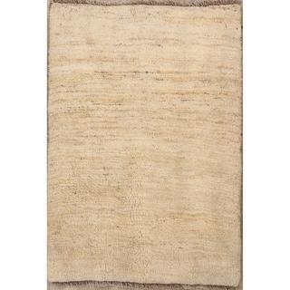 "Traditional Hand Made Wool Gabbeh Shiraz Persian Area Rug Tribal - 4'8"" x 3'2"""