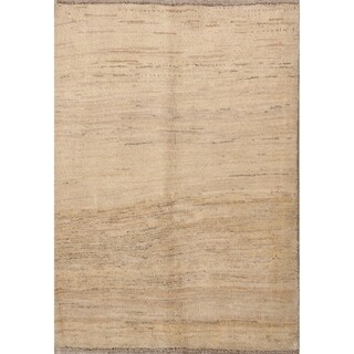 "Modern Traditional Gabbeh Shiraz Hand Knotted Persian Area Rug - 5'1"" x 3'8"""