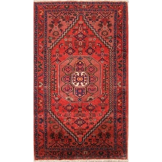 "Oriental Hand Made Traditional Hamedan Persian Area Rug - 7'1"" x 4'2"""