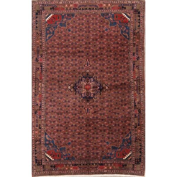 "Traditional Handmade Oriental Bidjar Gholtogh Persian Area Rug - 10'0"" x 6'6"""