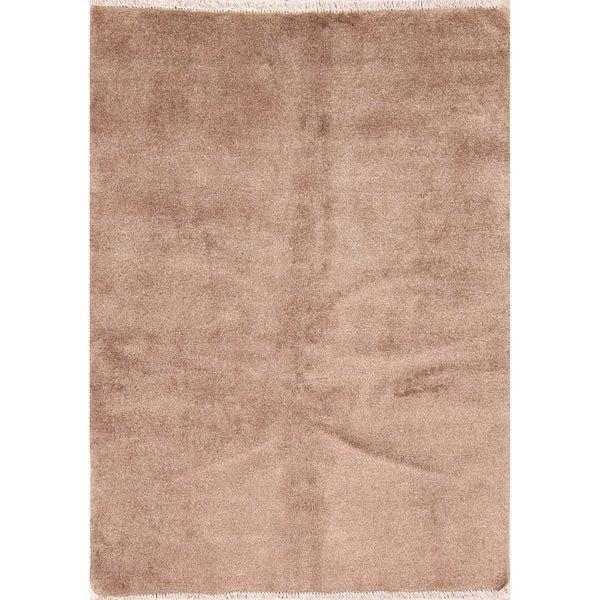 "Modern Gabbeh Shiraz Handmade Persian Area Rug Wool - 4'10"" x 3'6"""