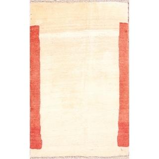 """Contemporary Gabbeh Zolanvari Shiraz Handmade Persian Area Rug - 4'8"""" x 3'0"""""""