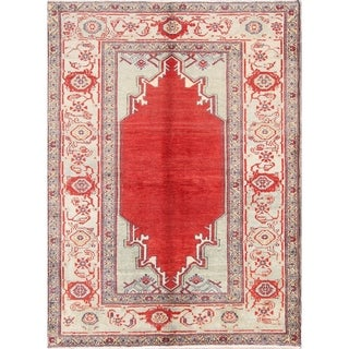 """Oriental Sultanabad Oushak Hand Knotted Wool Persian Area Rug - 6'7"""" x 4'10"""""""