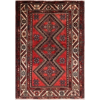 "Oriental Bakhtiari Hand Knotted Wool Persian Area Rug Carpet - 5'2"" x 3'8"""