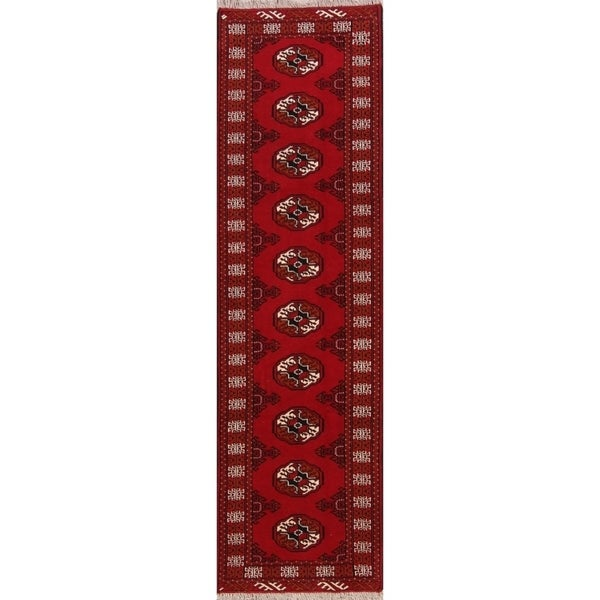 Persian Bokhara Hand Knotted Wool Area Rug: Shop Oriental Balouch Bokhara Hand Knotted Wool Persian