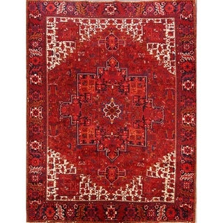 "Oriental Heriz Hand Knotted Persian Carpet Area Rug Wool - 13'3"" x 10'2"""