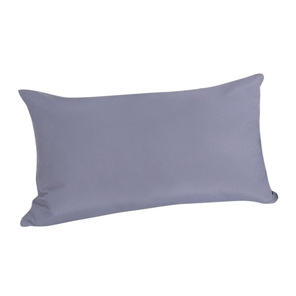 Shop Outdoor Cushion 20 X 27 Inch Gray Free Shipping Today
