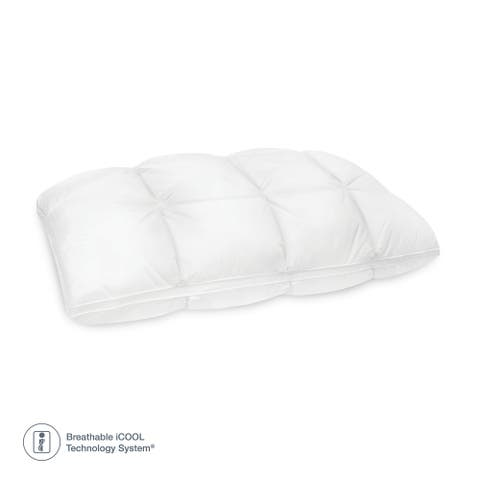 SensorPEDIC Euro Majestic Synthetic Down and Memory Foam Bed Pillow
