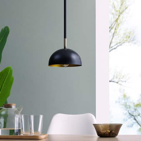 Carbon Loft Jennie Black Modern Pendant Light