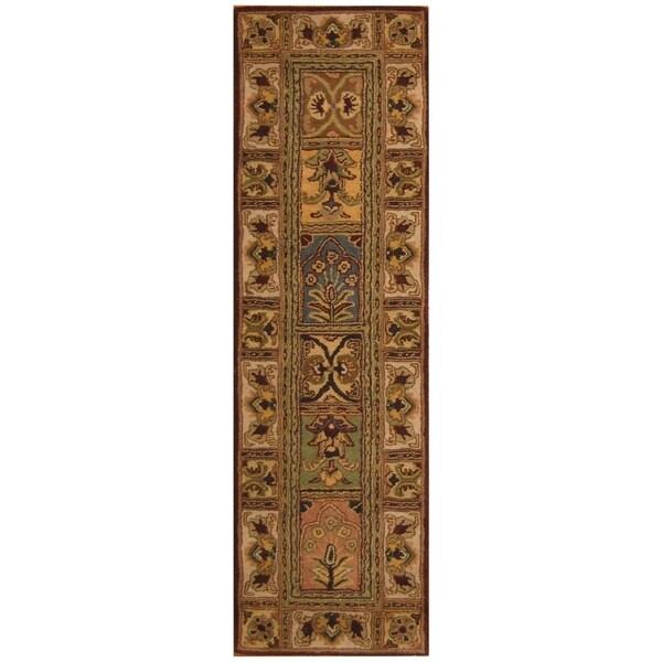 Handmade Tabriz Wool Rug (Iran) - 2'5 x 8'