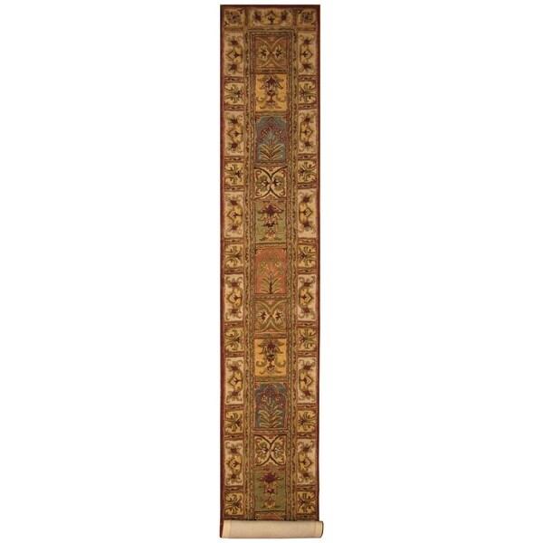 Handmade Tabriz Wool Rug (Iran) - 2'3 x 14'