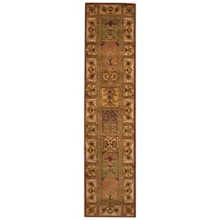 Handmade Tabriz Wool Rug (Iran) - 2'5 x 10'